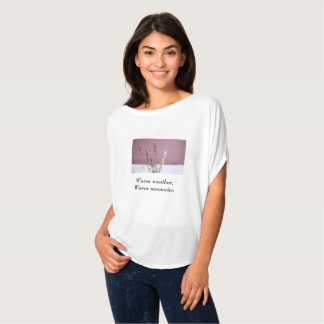 "Lavender ""warm weather, warm memories"" t-shirt"
