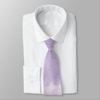 Lavender Watercolor Necktie