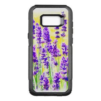 Lavender Watercolor OtterBox Commuter Samsung Galaxy S8+ Case
