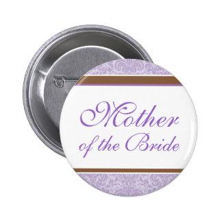 Lavender Wedding Party Button