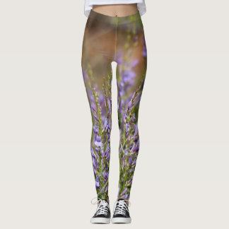Lavender Wildflower Leggings