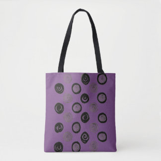Lavender with Dots! original bag
