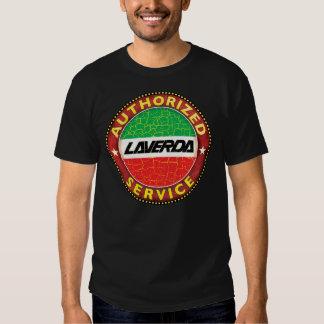 Laverda service sign tee shirt