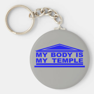 "Lavero ""My body is my warms up "" Key Ring"