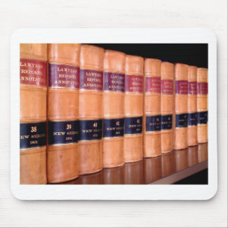 Law Books Mouse Pads