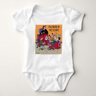 Law Cartoon 6553 Baby Bodysuit