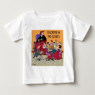 Law Cartoon 6553 Baby T-Shirt