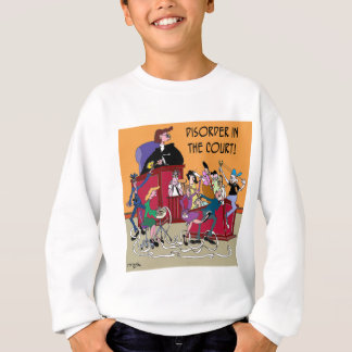 Law Cartoon 6553 Sweatshirt