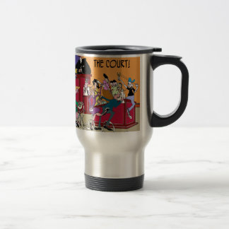 Law Cartoon 6553 Travel Mug
