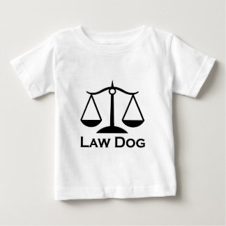 Law Dog Baby T-Shirt