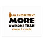 Law Enforcement designs Post Cards