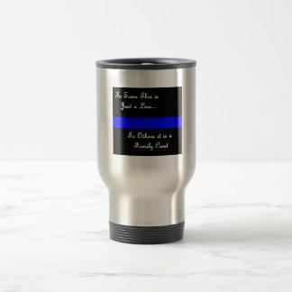 Law Enforcement Family-Thin Blue Line-Mug Travel Mug