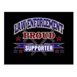 Law Enforcement Proud Supporter Postcard