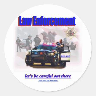 Law Enforcement Sticker