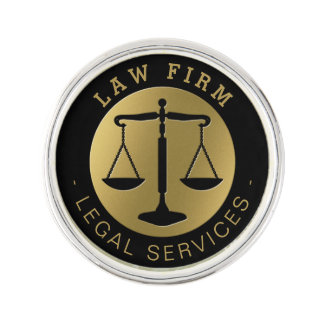 Law Firm | Legal Services Gold Lapel Pin