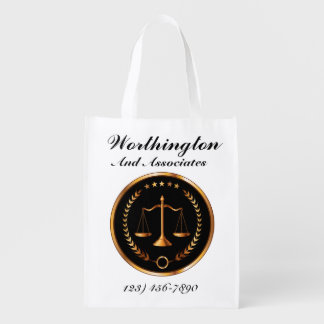 Law Firm Treat Bag See Back - SRF Reusable Grocery Bag