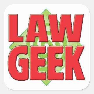 Law Geek v2 Stickers