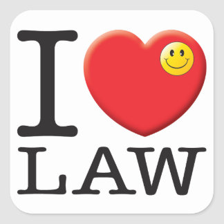 Law Love Stickers