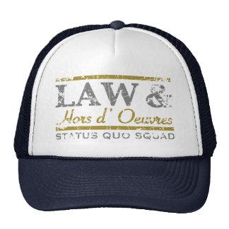 law-n-hors-LTT Hats