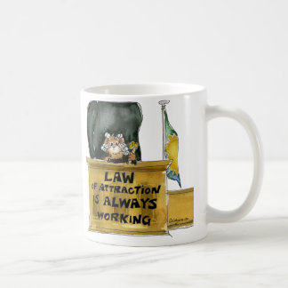 Law of Attraction Cartoon Judge Mug