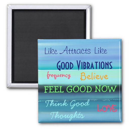 """""""LAW OF ATTRACTION"""" REFRIGERATOR MAGNETS"""