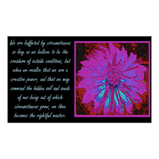 Law of Attraction Quote Poster
