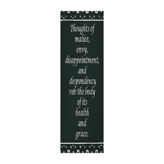 Law of Attraction Quotes Gallery Wrapped Canvas