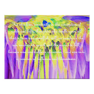 Law of Attraction Quotes Print