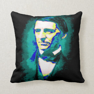 Law of Attraction - Ralph Waldo Emerson Quote Throw Cushion