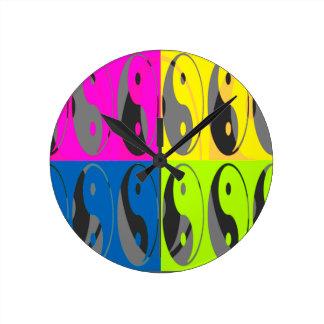 Law of Attraction - Yin Yang Clocks