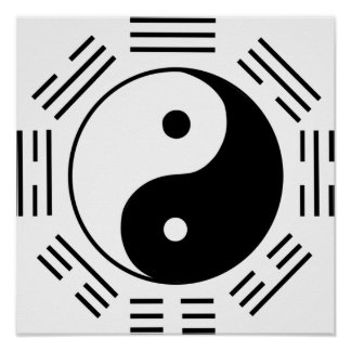 Law of Attraction Yin Yang Poster