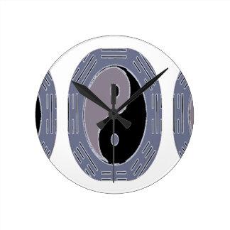 Law of Attraction - Yin Yang Wall Clock