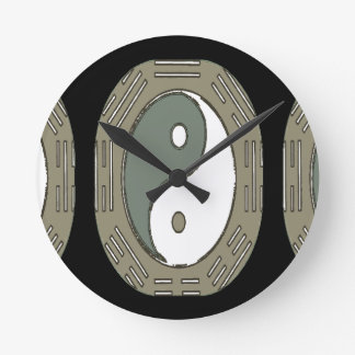 Law of Attraction - Ying Yang Wall Clock