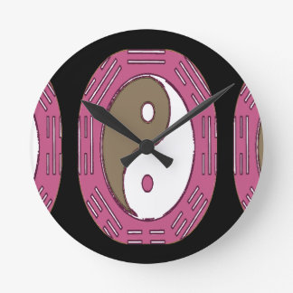 Law of Attraction - Ying Yang Wall Clocks