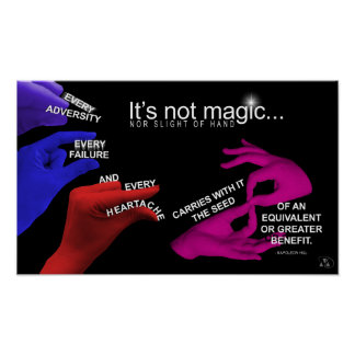 Law of Polarity Poster _ It's Not Magic
