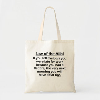 Law of the Alibi Bags