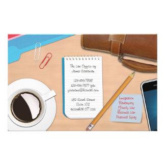 Law / Office Job Desk Flyer
