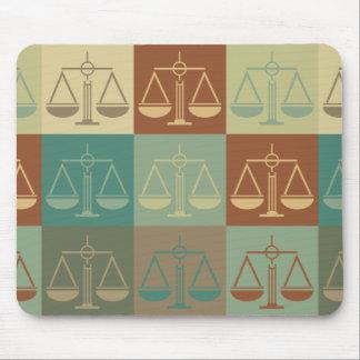 Law Pop Art Mouse Pad