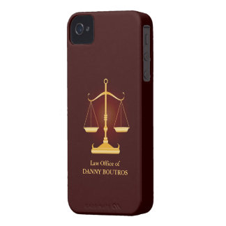 Law Scale iPhone 4 ID Case-Mate