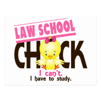 Law School Chick 1 Postcard