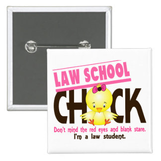 Law School Chick 2 Pinback Button