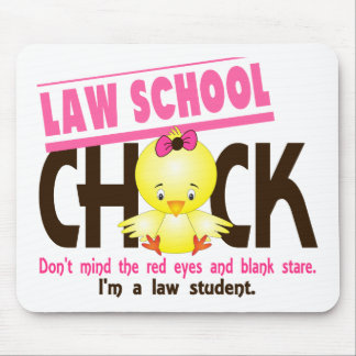 Law School Chick 2 Mouse Pad