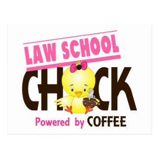 Law School Chick 4 Postcard