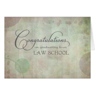 Law School Congratulations Card