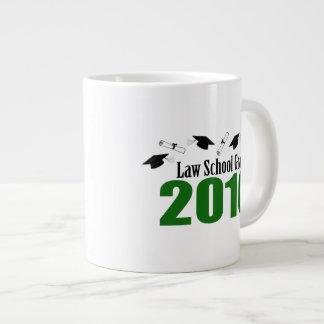 Law School Grad Class Of 2016 Caps (Green) Jumbo Mug