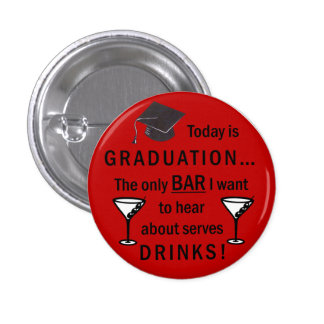Law School Graduation Bar Exam Funny Lawyer Pinback Buttons