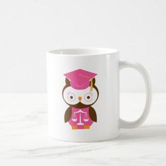 Law School Owl Gift Idea Coffee Mug