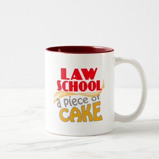 Law School - Piece of Cake Coffee Mug