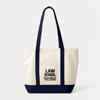 Law School Survivor funny bag