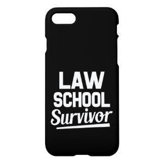 Law school survivor funny phone case